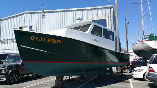 30' lobster boat for sale