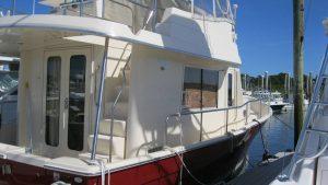 Maine Ship Trawler Yacht