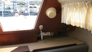 Pearson Sailboat Companionway