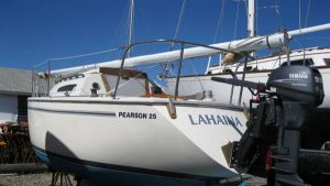 25 Pearson Sailboat Sloop