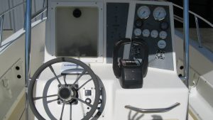 World Cat Center Console Boat Helm