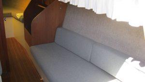 Pearson Sailboat Seat Below