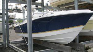 21' Polar Outboard Boat 2100DC