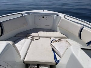 21' Polar Outboard Boat 2100DC Bow